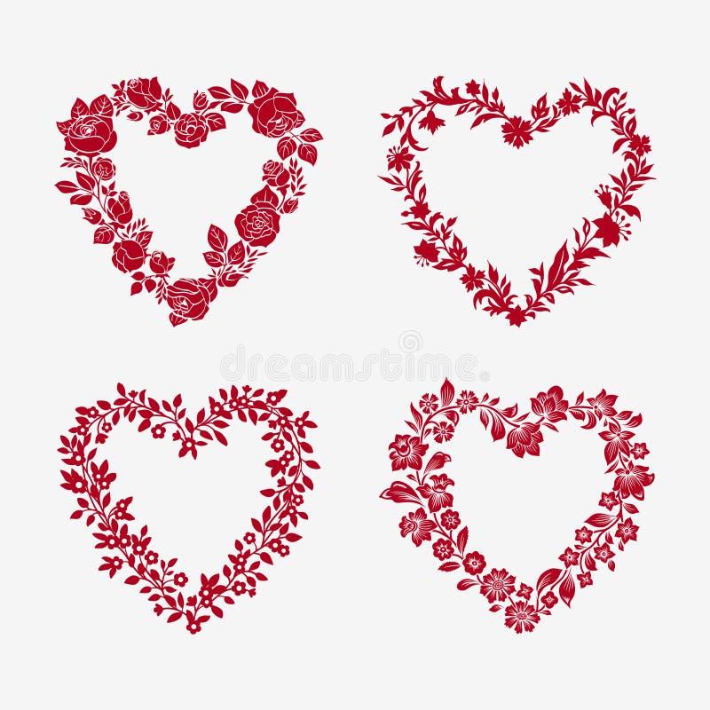 Download Set of  floral frames stock vector. Illustration of field - 38993380