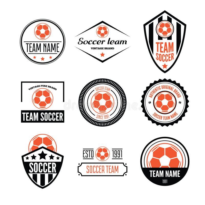 Football Soccer Club Logo Design Stock Illustrations – 6,579