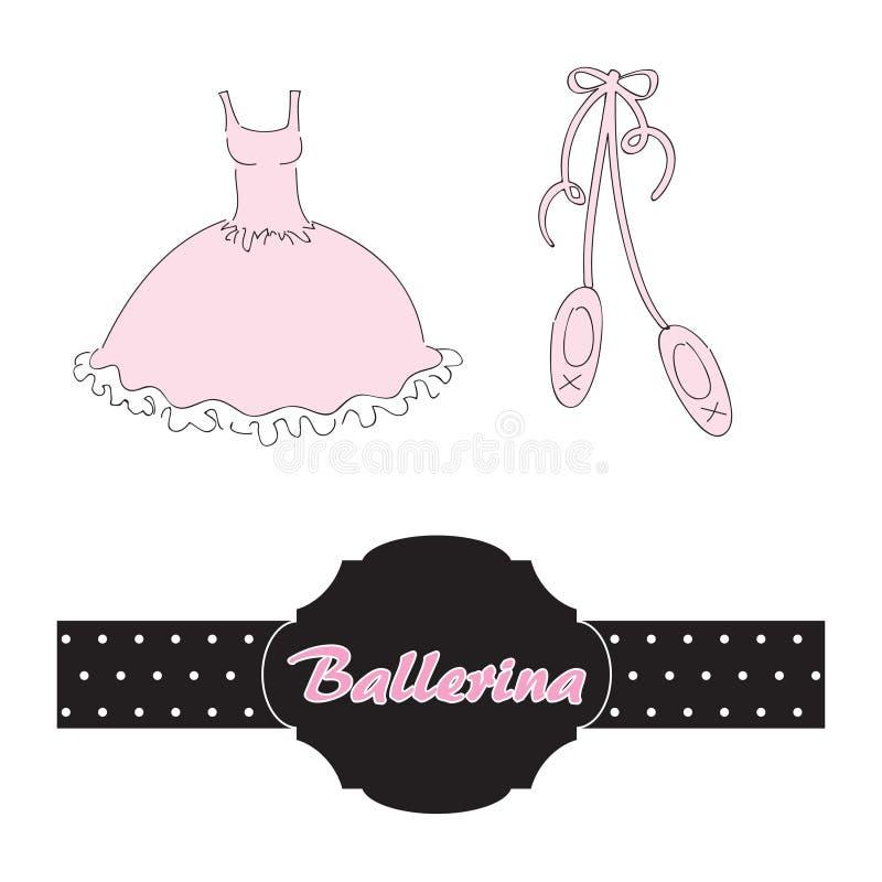 Free Set For Ballerina Royalty Free Stock Image - 17999846