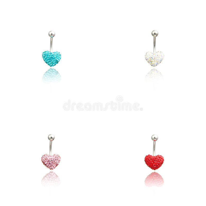 Download Set Of Four Fashion Piercing Stock Image - Image of jewel, piercing: 73614255