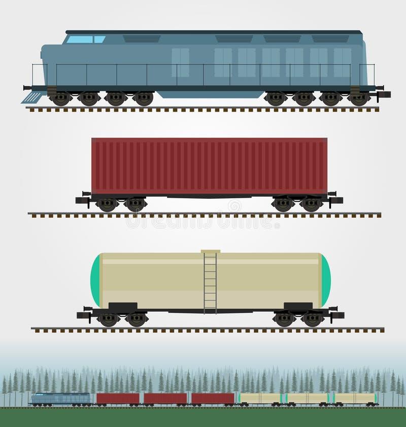 Old Rail Freight Car