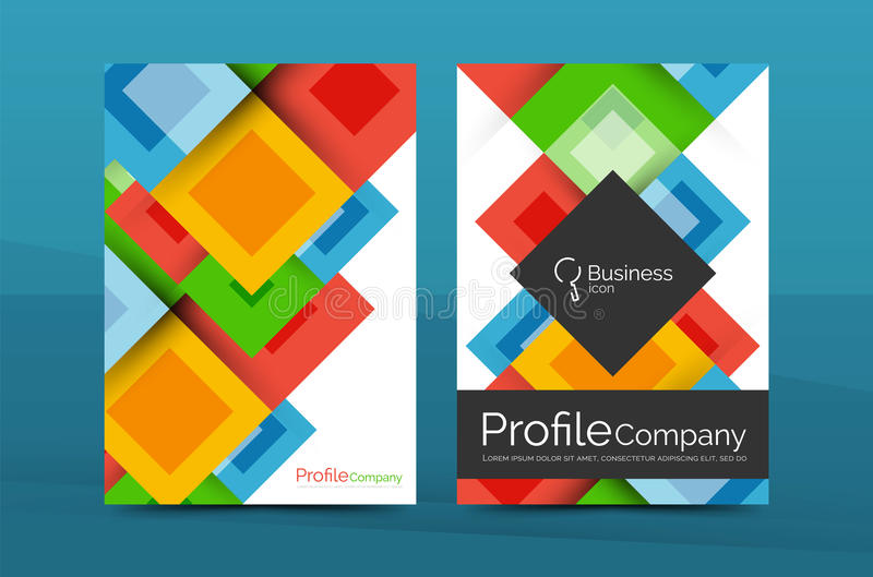 Set of front and back a4 size pages business annual report design download set of front and back a4 size pages business annual report design templates stock cheaphphosting Images