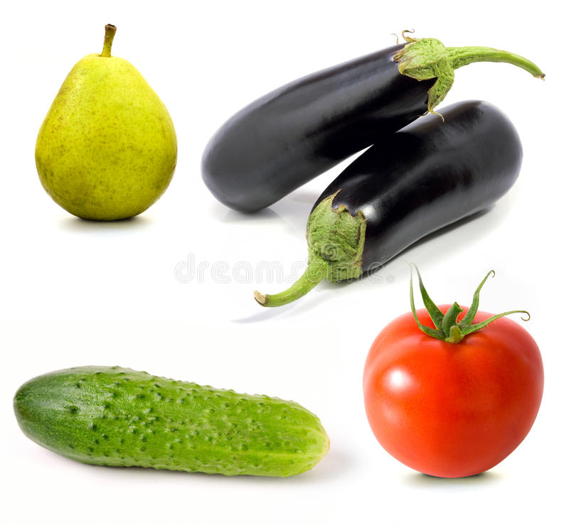 Download Set Of Fruit And Vegetables Stock Photo - Image: 10674446