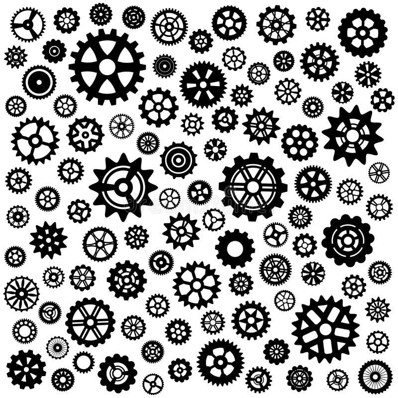 Set Gänge vektor abbildung