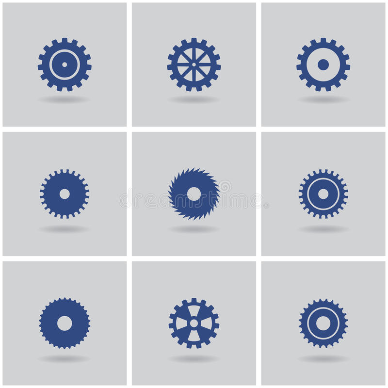 Set Of Gears Royalty Free Stock Image