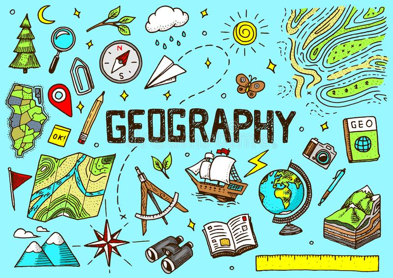 Geography Banners Stock Illustrations – 1,001 Geography Banners ...