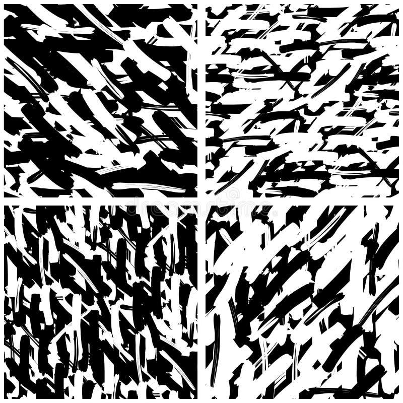 Set Geometryczny wzór z przypadkowy przecinać wykłada ilustracji