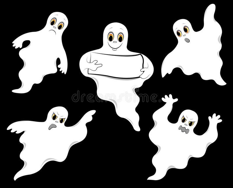 Set of ghosts.