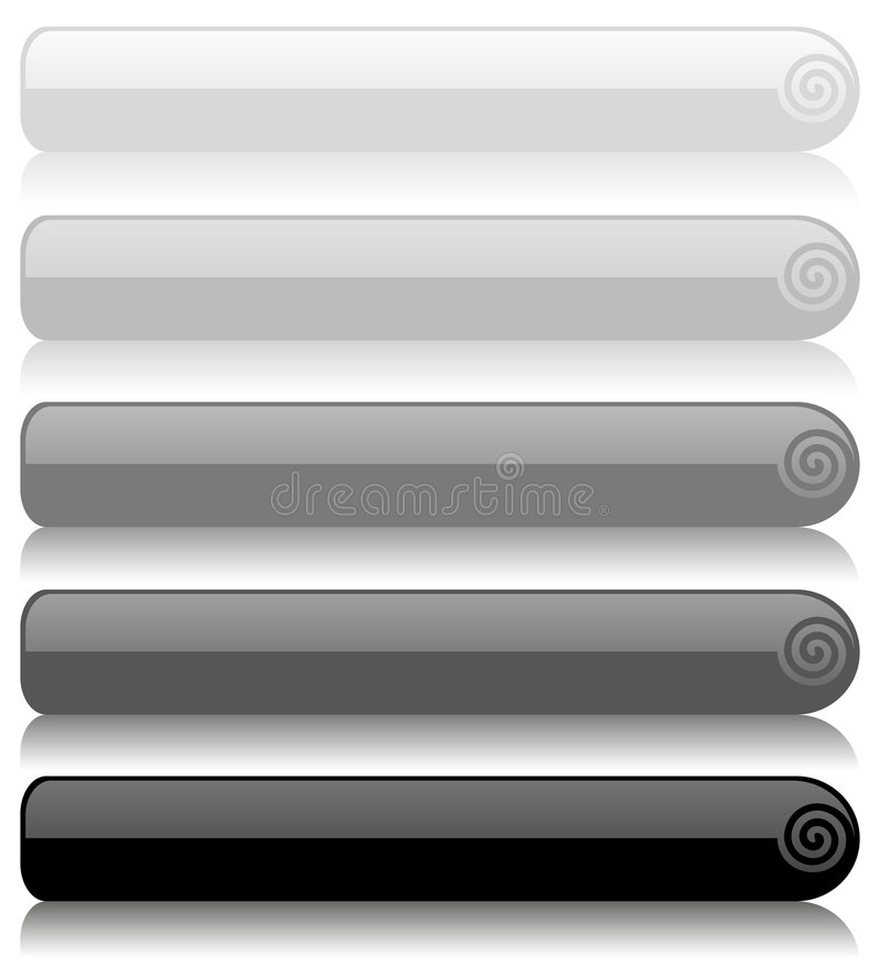 Download Set of glass buttons stock illustration. Image of graphics - 7815900