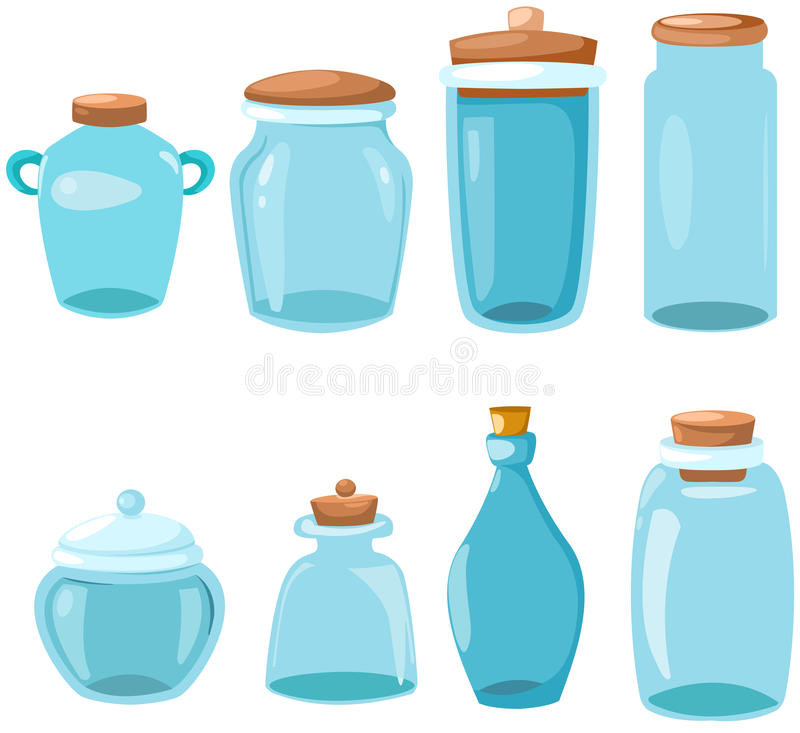 Set Of Glassware Royalty Free Stock Image