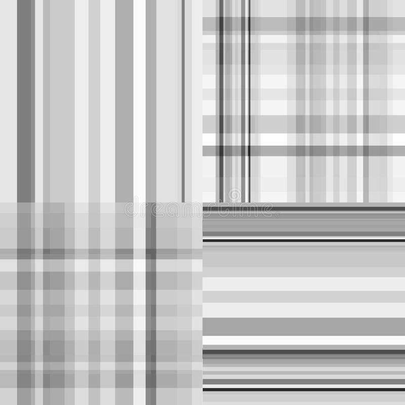 Set Of Gray Samples Stock Images