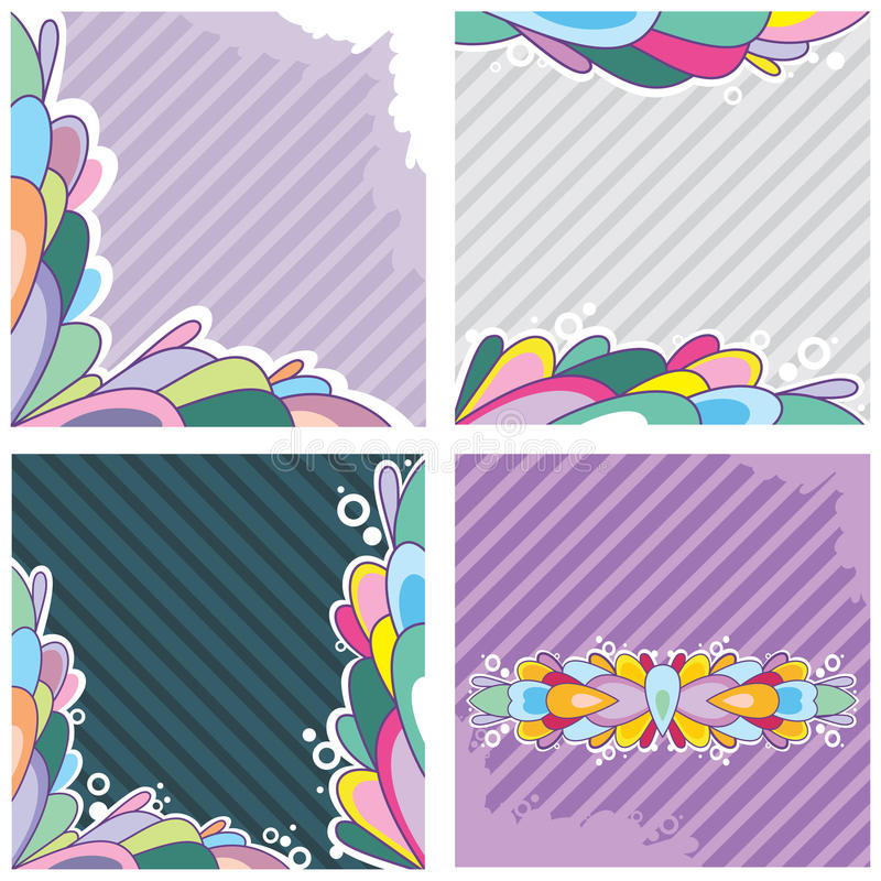 Download Set Of Greeting Cards Royalty Free Stock Images - Image: 18829159