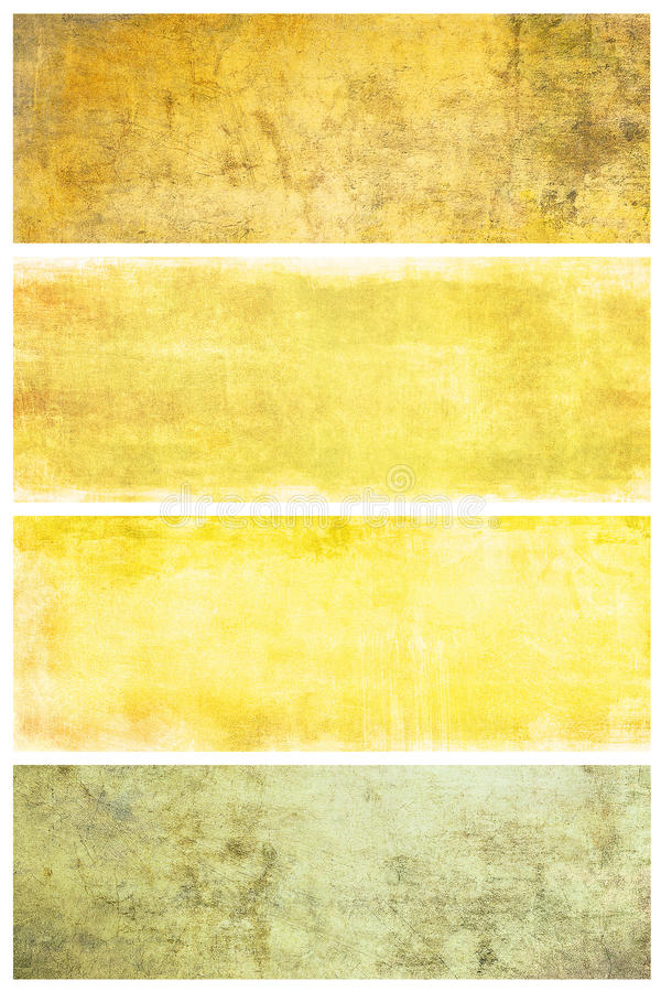 Download Set Of Grunge Backgrounds With Space For Text Stock Illustration - Image: 12791665