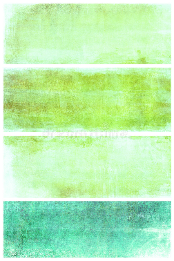 Download Set Of Grunge Backgrounds With Space For Text Stock Illustration - Illustration: 7892743