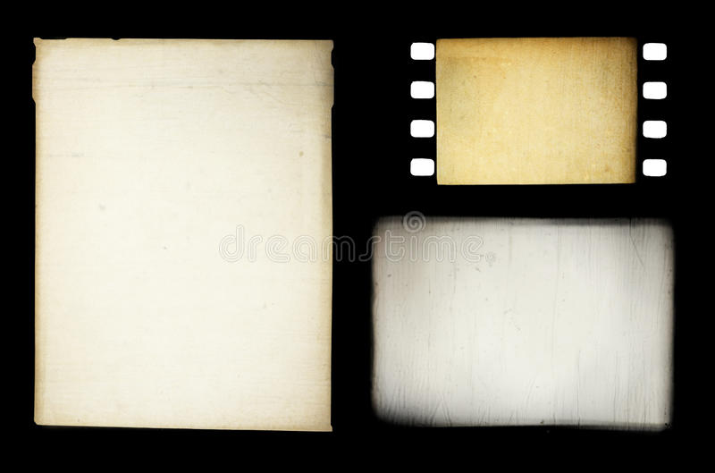 Download Set Of Grungy Different Film Frames Stock Image - Image: 16538701