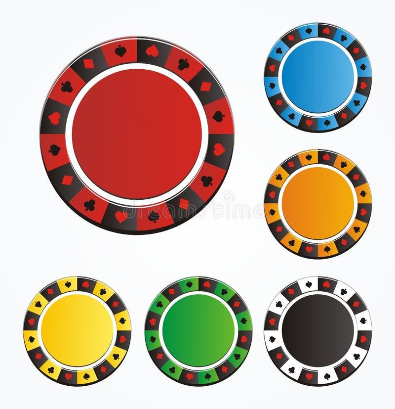 Set grzebaka układ scalony ilustracji