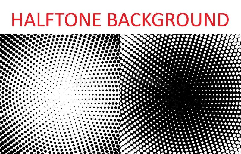 Set halftone wzoru tekstura Retro tło dla plakatów, miejsca, wizytówki, pocztówki, wewnętrzny projekt ilustracja wektor