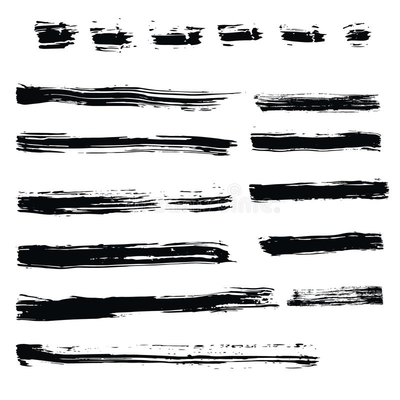 Set of hand drawn design elements vector illustration