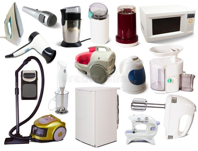 Set Haushaltsgeräte stockbild. Bild von mini, schleifer - 21296697