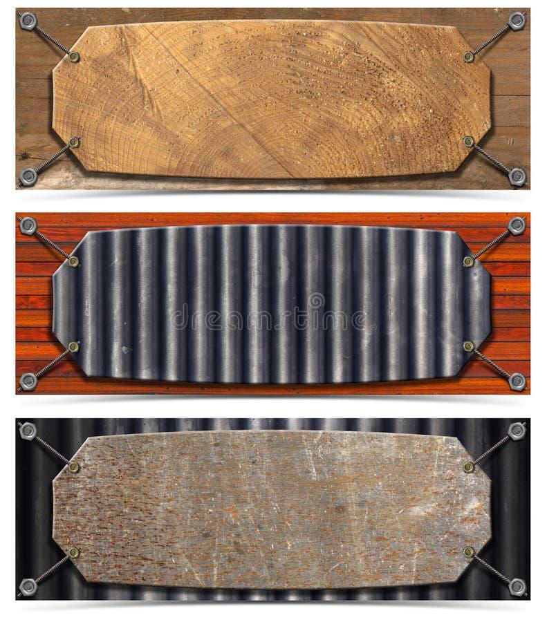 Download Set Of Horizontal Grunge Headers Stock Illustration - Image: 26796077