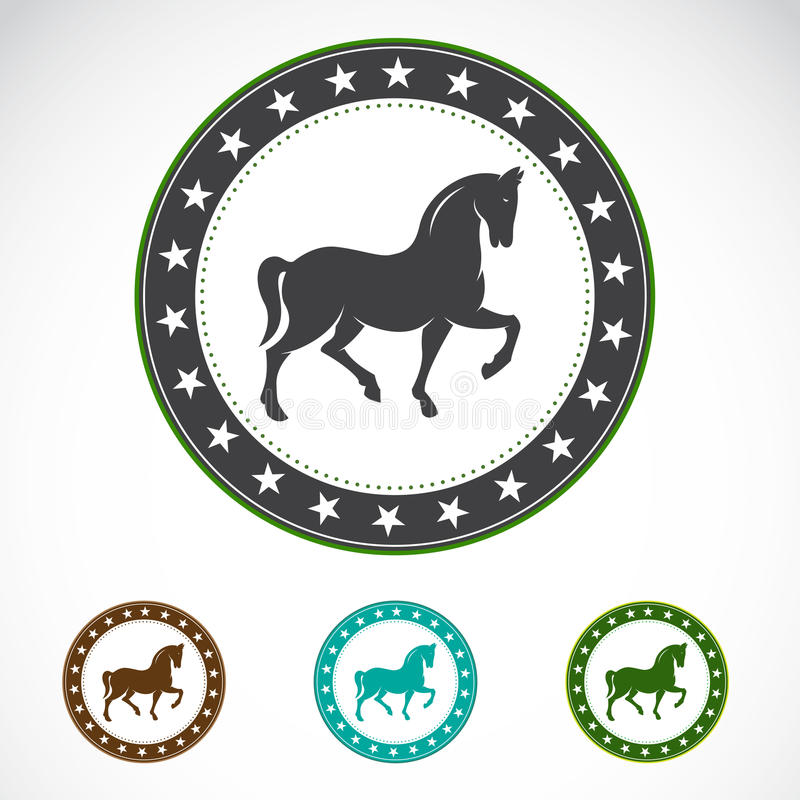 Download Set Of  Horse Label Royalty Free Stock Photography - Image: 30630377
