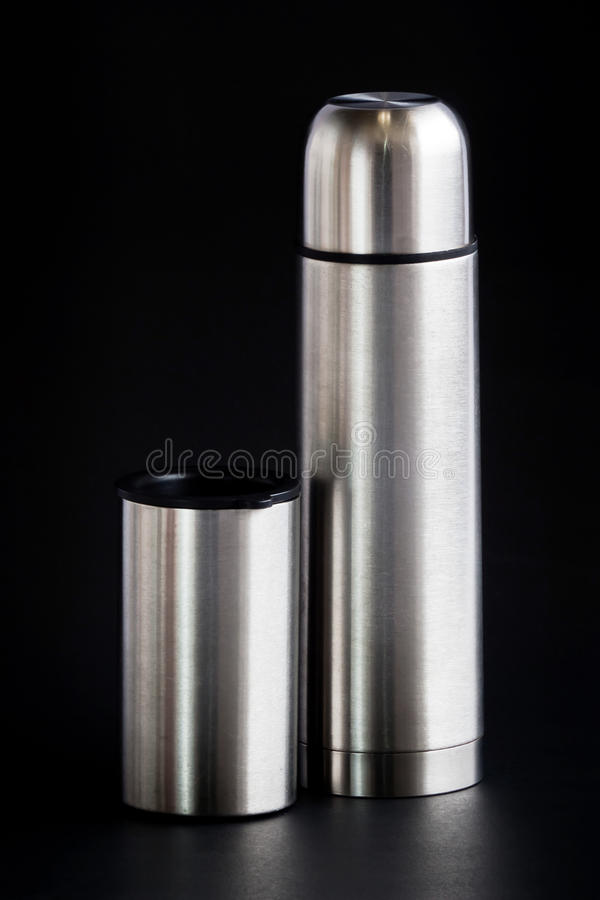 Set Of Hot Water For Travelling. Stock Photo