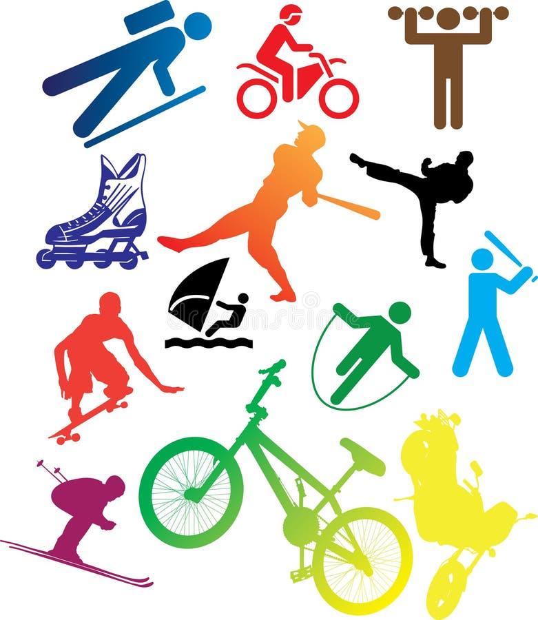 Free Set Icons - 105C. Sport Stock Photo - 11374270