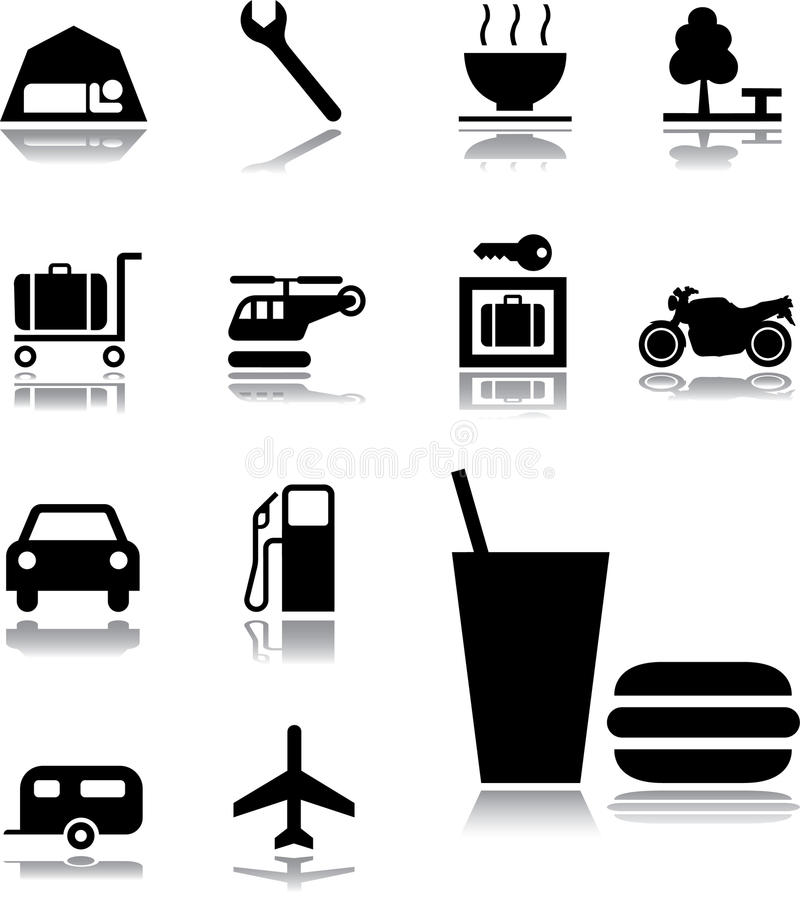Download Set Icons - 131. Transport Icons Royalty Free Stock Images - Image: 11887829