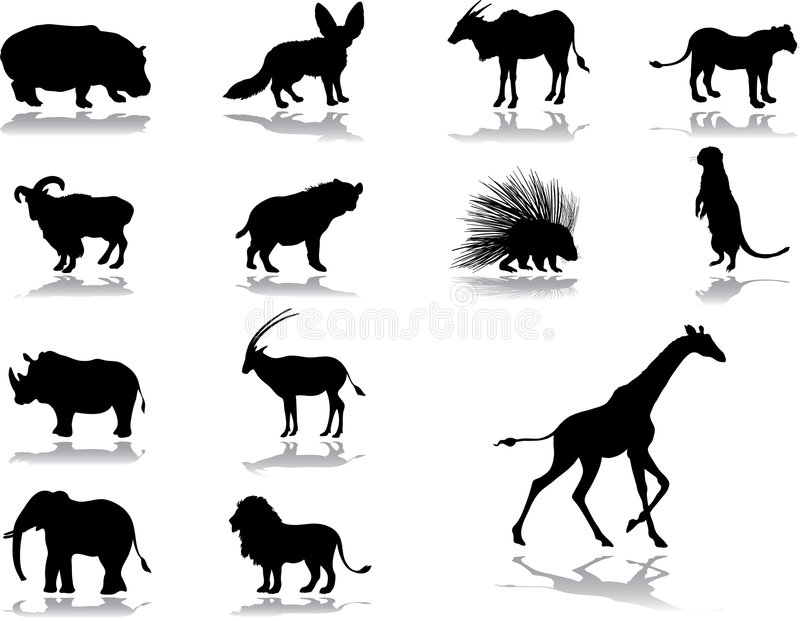 Download Set icons - 38. Animals stock vector. Image of animal - 5841326