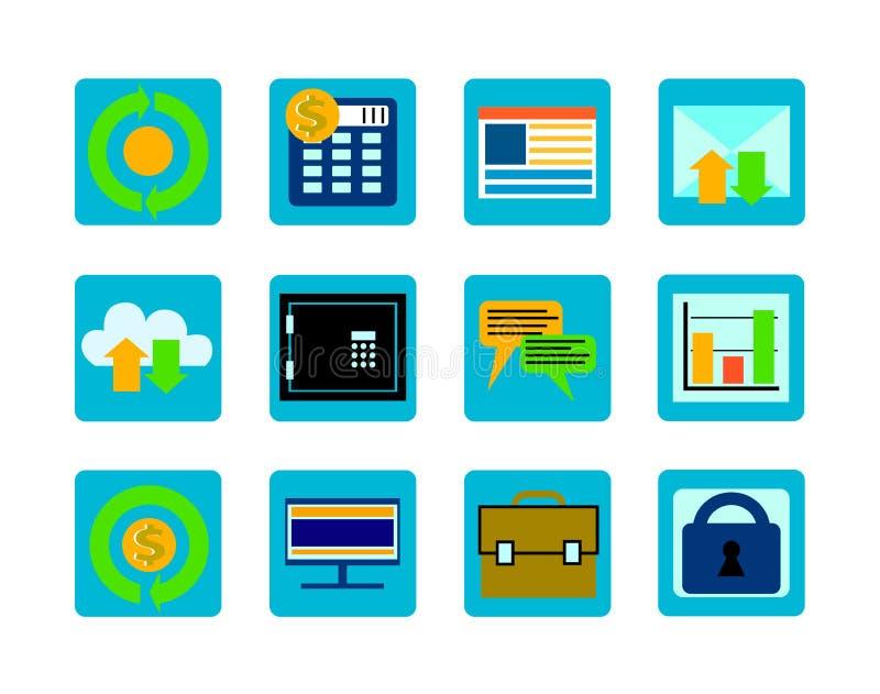 Set_icons стоковое изображение