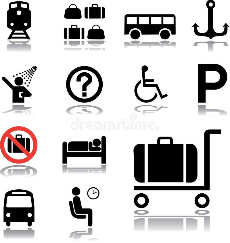 Free Set Icons - 84. Transport Icons Royalty Free Stock Photos - 6967408