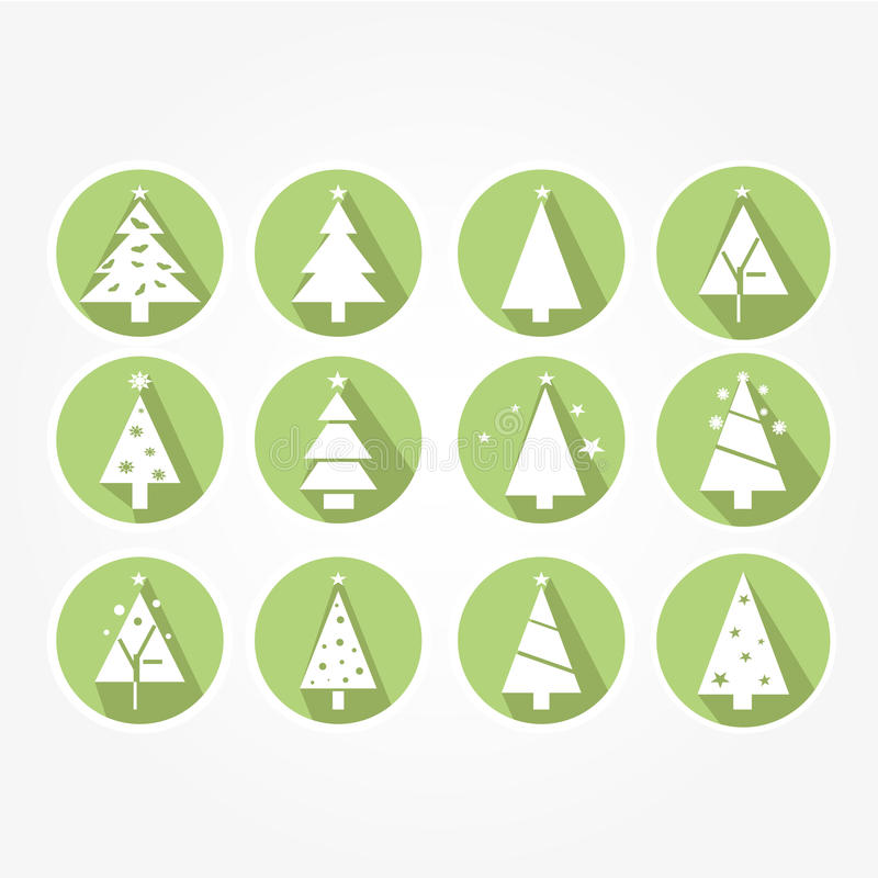 Download Set Of Icons - Christmas Stock Vector - Image: 43240664