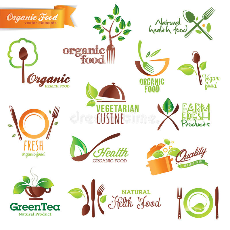 Download Set of  icons and elements stock vector. Image of nature - 26062031