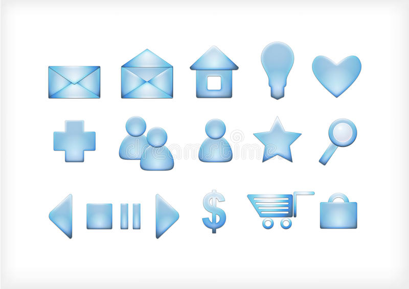 Download A set of icons for the sit stock illustration. Image of discussion - 16645481