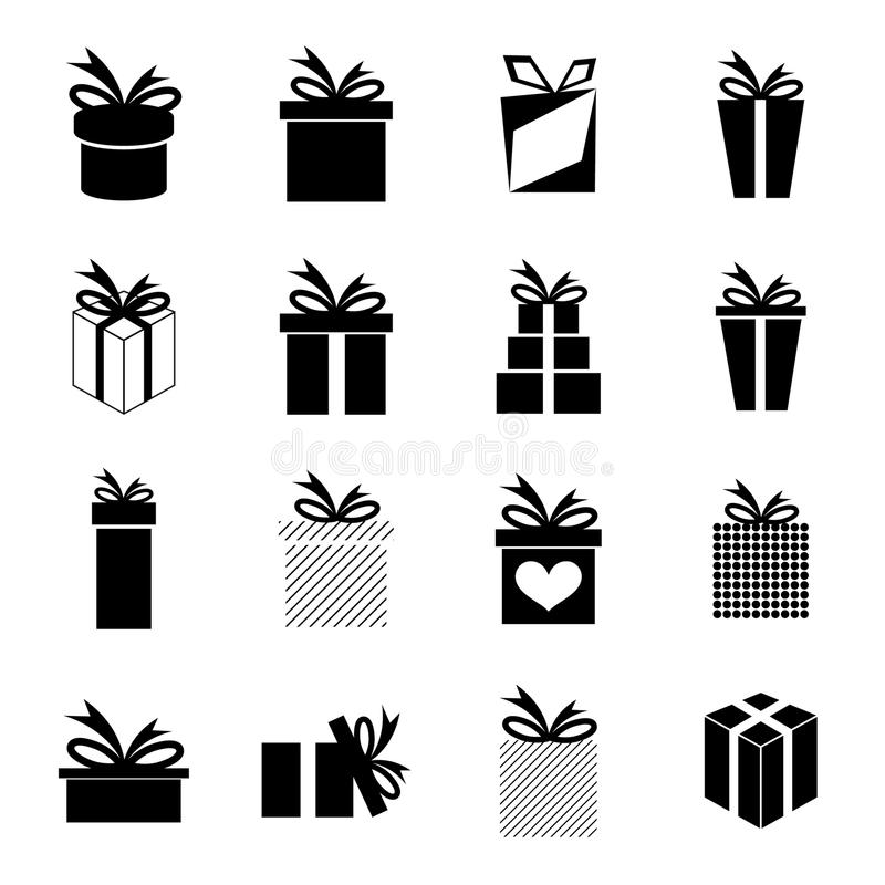 Set of icons stock illustration