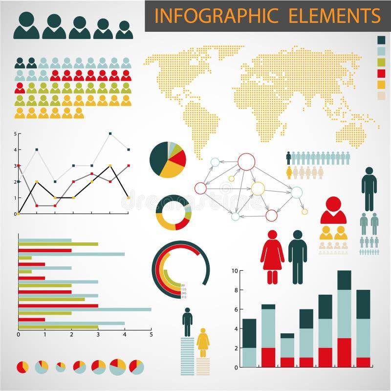 Download Set Of Infographic Elements Stock Illustration - Image: 21922874