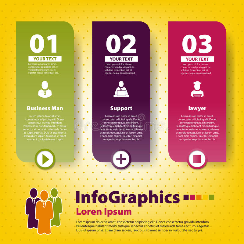 Download Set Infographic Na Pracie Zespołowej Ilustracja Wektor - Obraz: 31953574