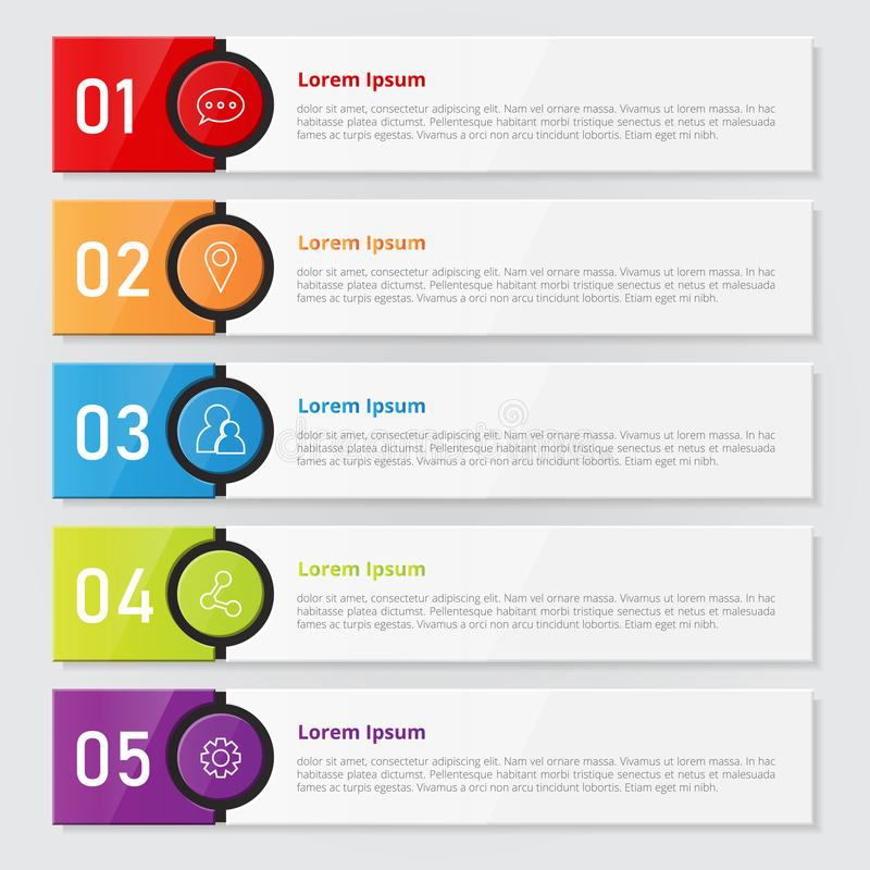 Set Of Infographics Template. Vector Illustrator Stock Vector ...