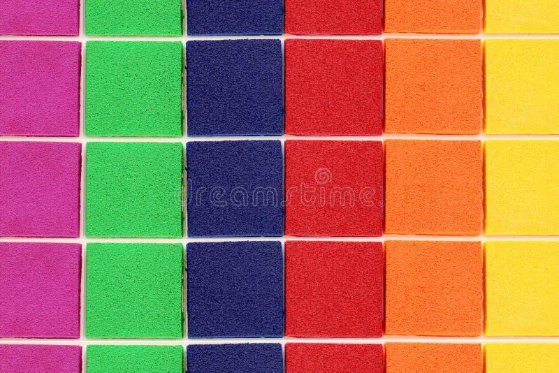 Set of ink pad. Isolated on white background royalty free stock photo
