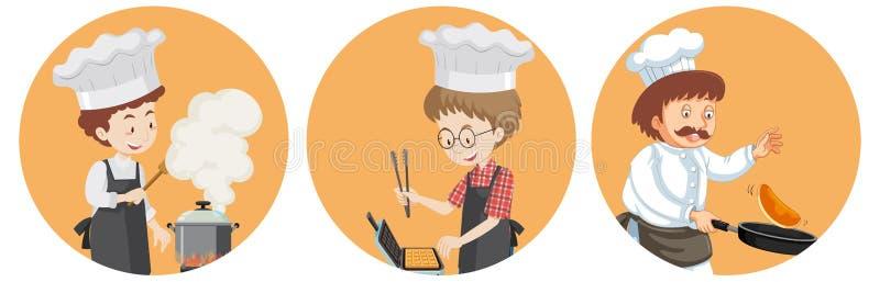 A Set of International Chef vector illustration