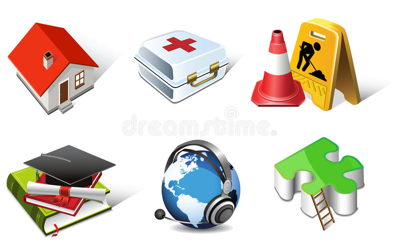 Download Set Of Internet Icons. Stock Images - Image: 10212694