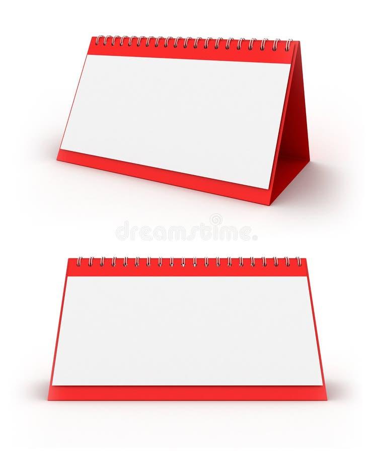 Set Kalender lizenzfreies stockfoto