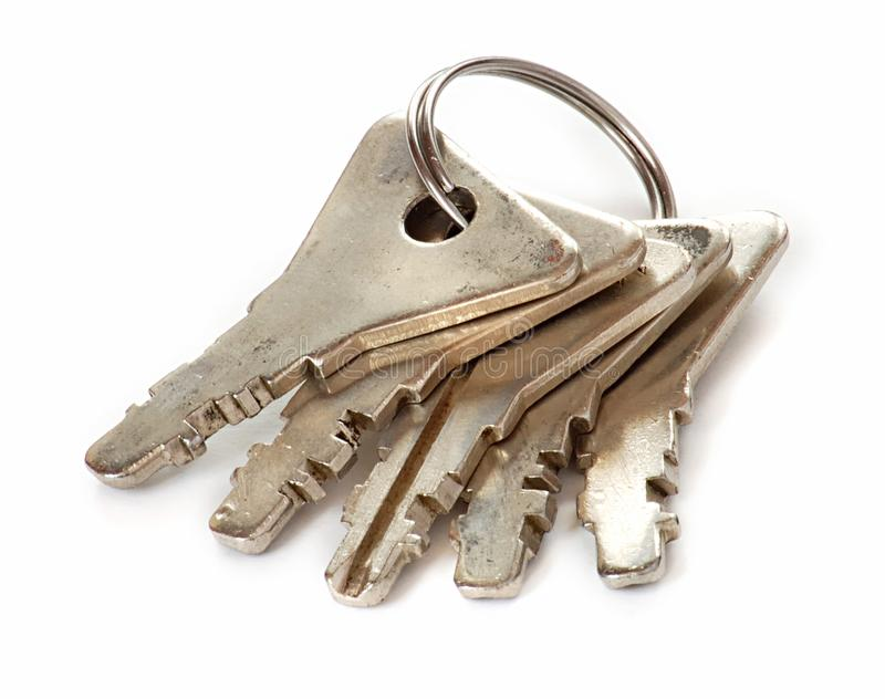 Set of keys stock photo
