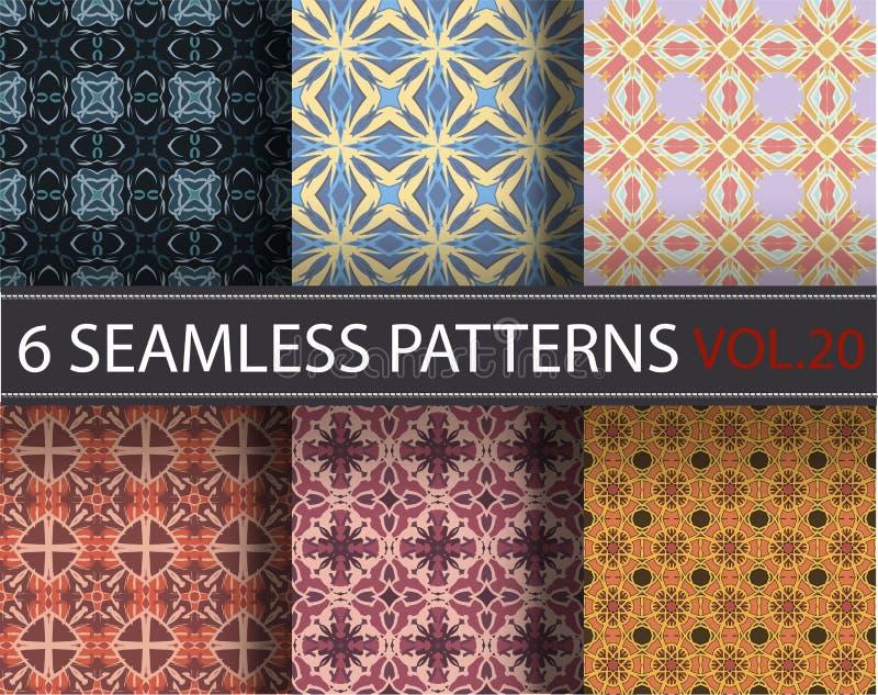 Download Set, Kolekcja, Juczni Ogólnoludzcy Wektorowi Bezszwowi Wzory, Tafluje Geometryczni Ornamenty Ilustracja Wektor - Ilustracja złożonej z greaser, piękny: 65225344