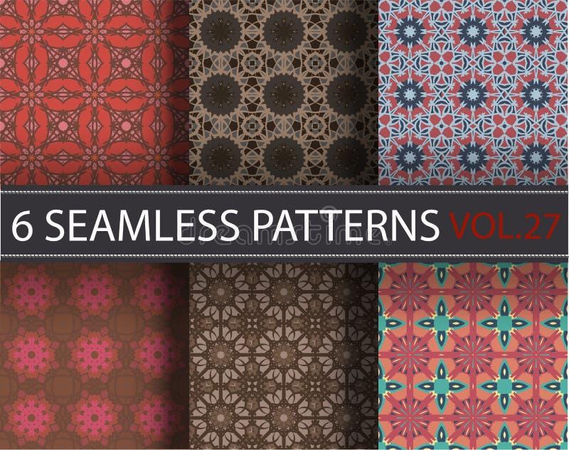 Download Set, Kolekcja, Juczni Ogólnoludzcy Wektorowi Bezszwowi Wzory, Tafluje Geometryczni Ornamenty Ilustracja Wektor - Ilustracja złożonej z greaser, pełnie: 65225450