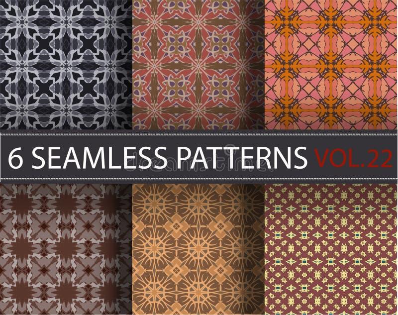 Download Set, Kolekcja, Juczni Ogólnoludzcy Wektorowi Bezszwowi Wzory, Tafluje Geometryczni Ornamenty Ilustracja Wektor - Ilustracja złożonej z piękny, tło: 65225692