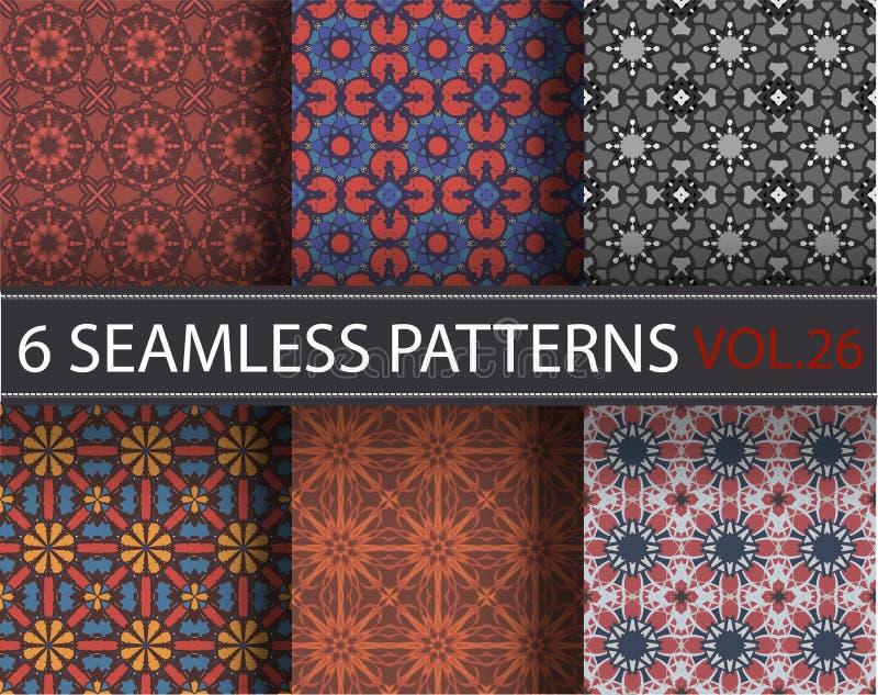 Download Set, Kolekcja, Juczni Ogólnoludzcy Wektorowi Bezszwowi Wzory, Tafluje Geometryczni Ornamenty Ilustracja Wektor - Ilustracja złożonej z nowożytny, geometryczny: 65225715