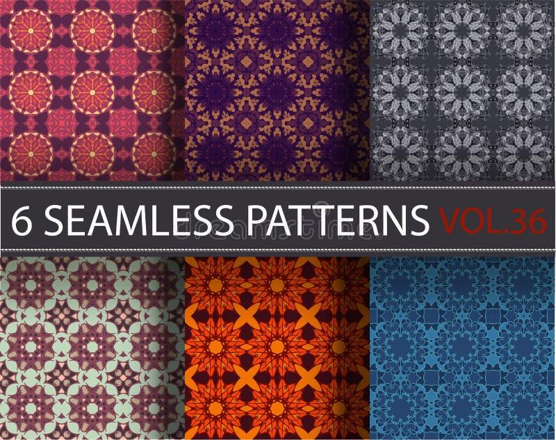 Download Set, Kolekcja, Juczni Ogólnoludzcy Wektorowi Bezszwowi Wzory, Tafluje Geometryczni Ornamenty Ilustracja Wektor - Ilustracja złożonej z błękitny, pojęcie: 65226543