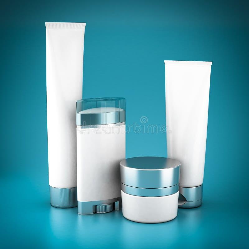 Set Kosmetik stock abbildung