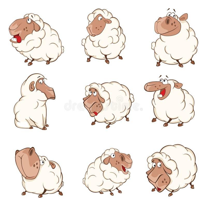 Set kreskówka Ilustracyjni cakle dla ciebie Projektuje ilustracji